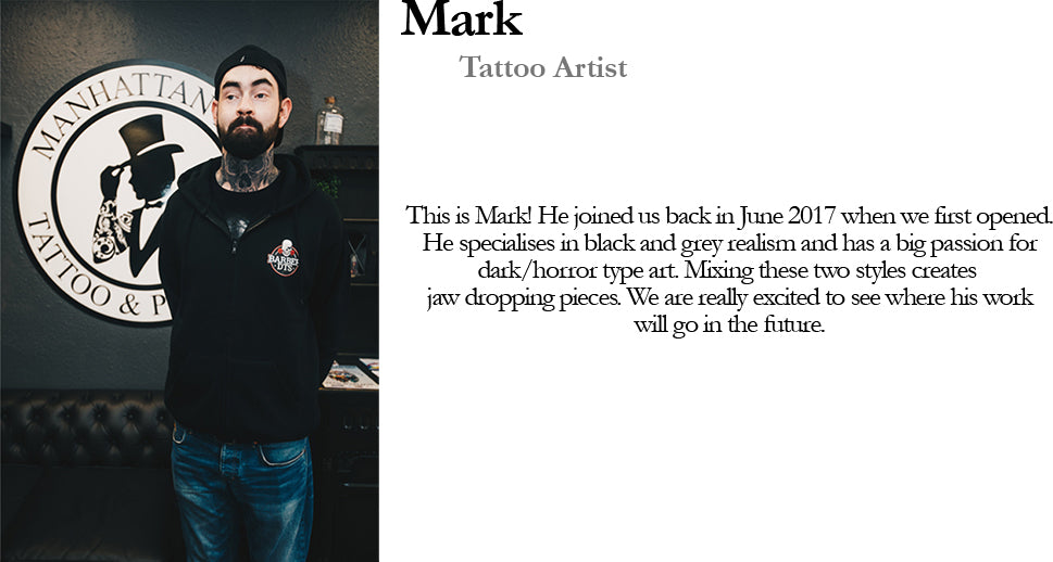 Mark Tattoo Artist Manhattan Ink Bio