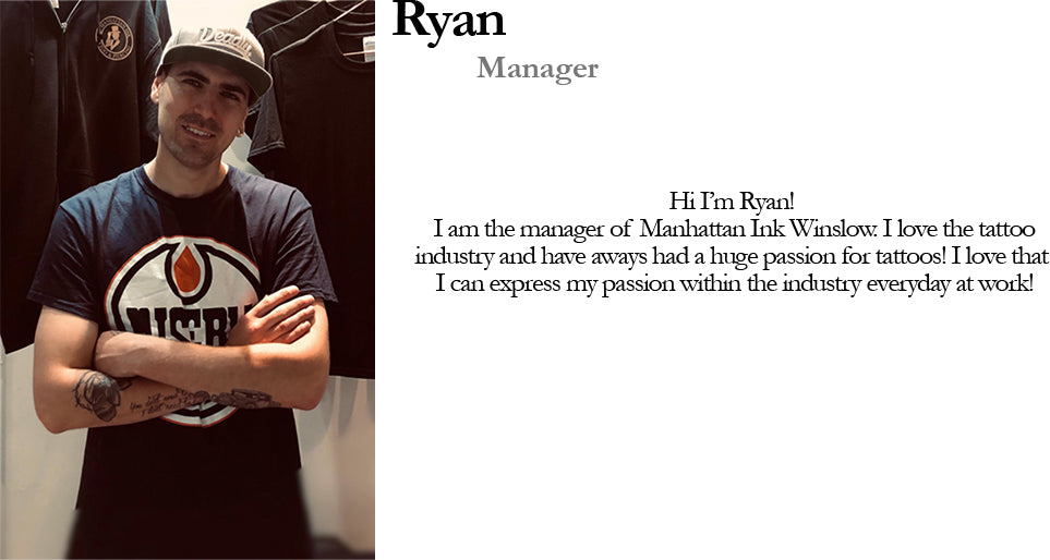 Ryan Manager Manhattan Ink Bio