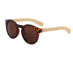 Wooden Sunglasses Round Frame