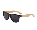 Wooden Sunglasses Black Lens