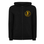 Manhattan Ink Zipped Hoodie