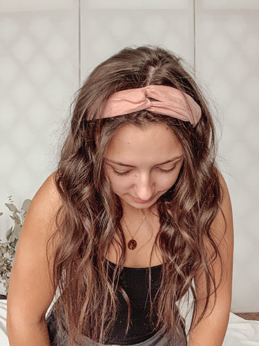 Pretty In Pink Hair Wrap
