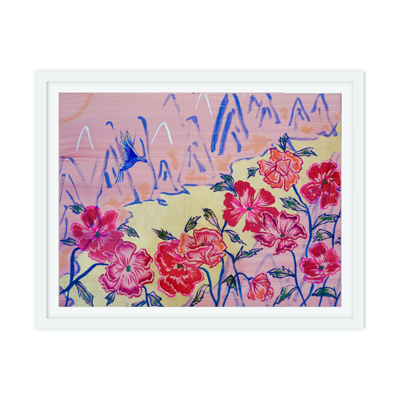 Wildflower Gold Rush Print