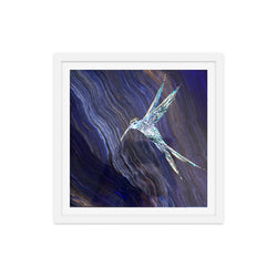 Mythical Hummingbird in Galaxy Print