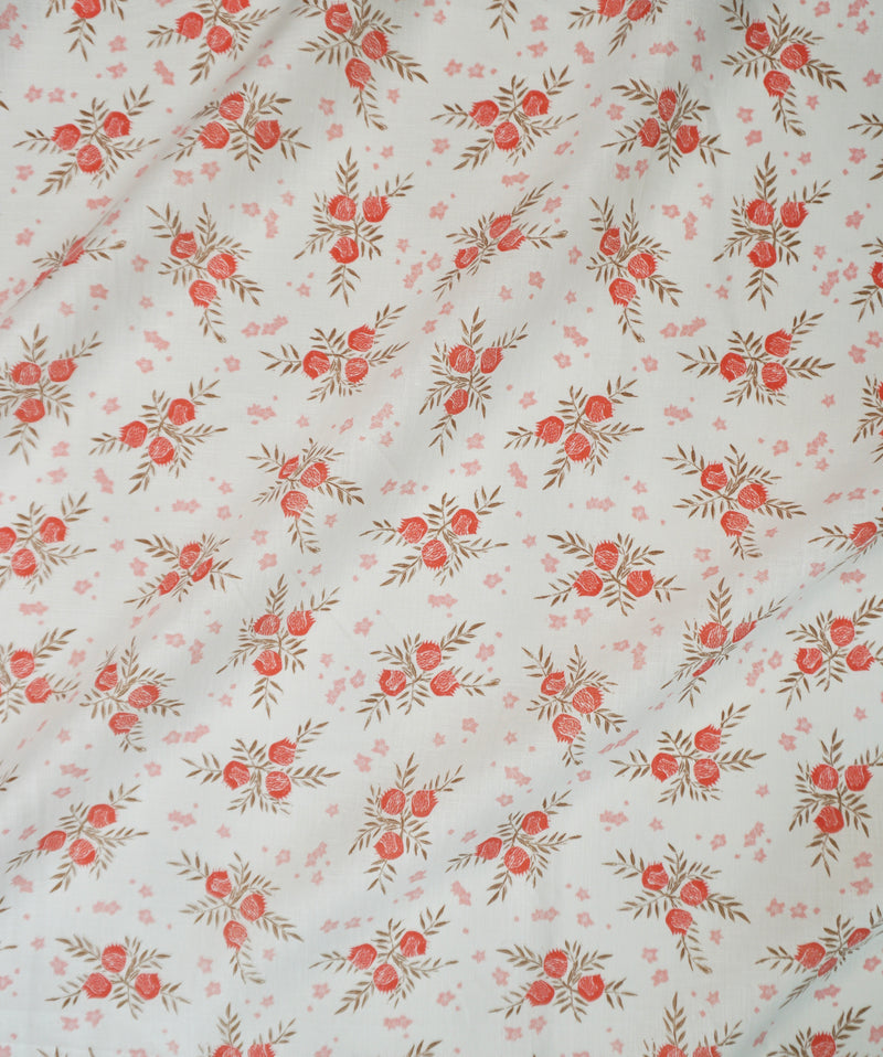 Pomegranate Fabric in Strawberry