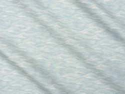 Painted Wave Fabric in Celadon