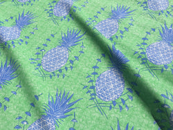 Royal Pineapple Fabric in Chandler
