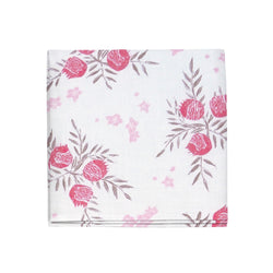 Pomegranate Napkins in Strawberry, Set of 4