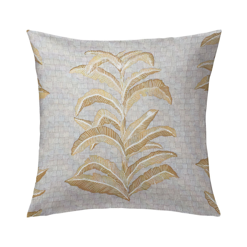 Banana Leaf Pillows, Pair