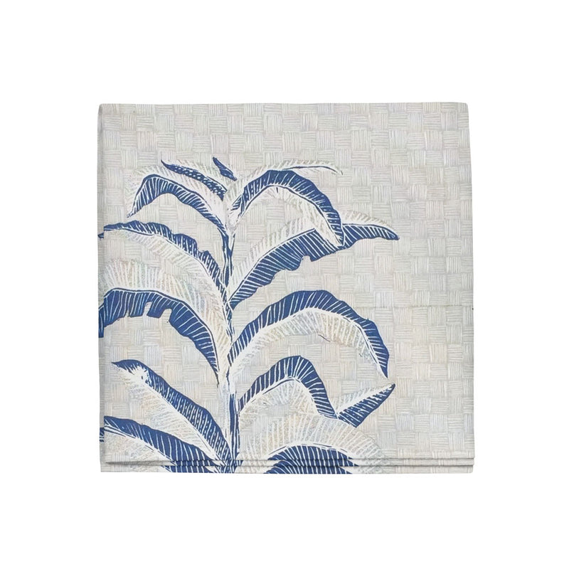 Banana Leaf Napkins in Navy, Set of 4