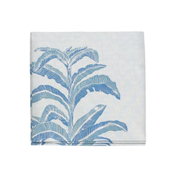 Banana Leaf Napkins in Sapphire, Set of 4