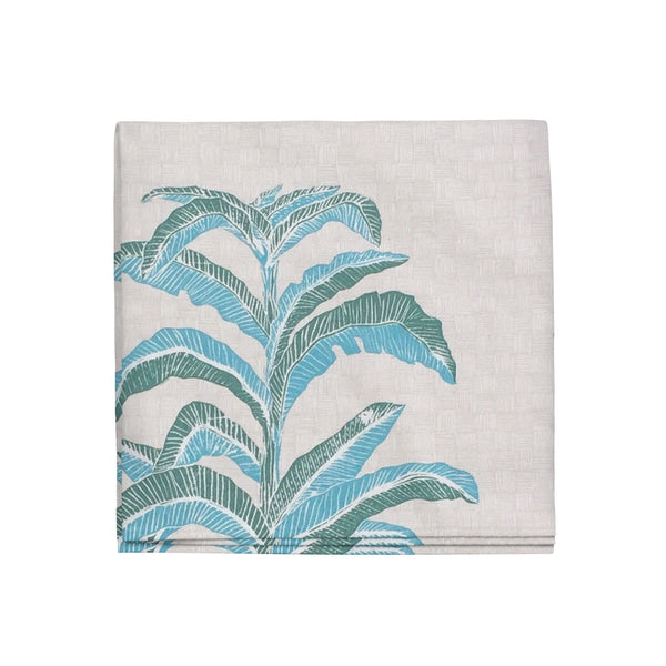 Banana Leaf Napkins in Viridian, Set of 4