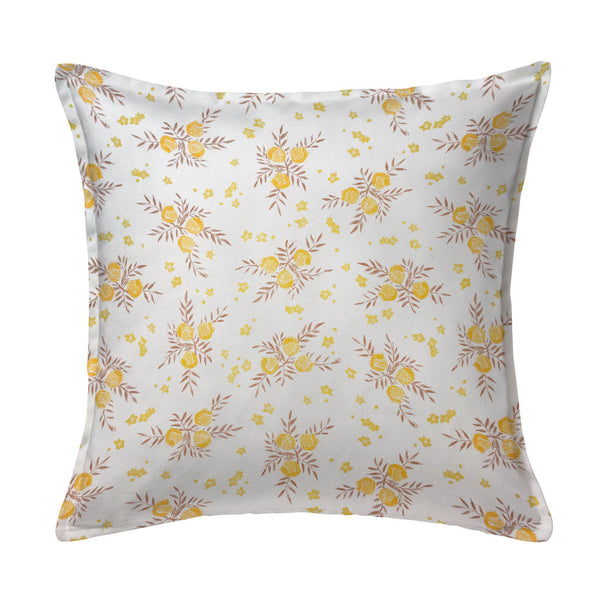 Pomegranate Pillow in Saffron