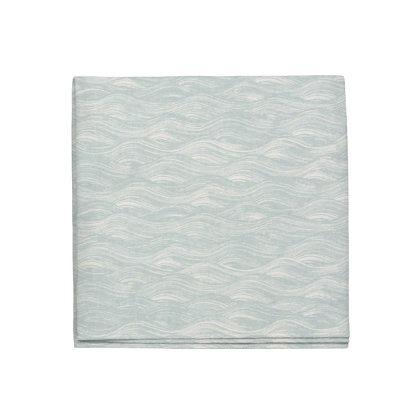 Painted Wave Napkins in Celadon, Set of 4