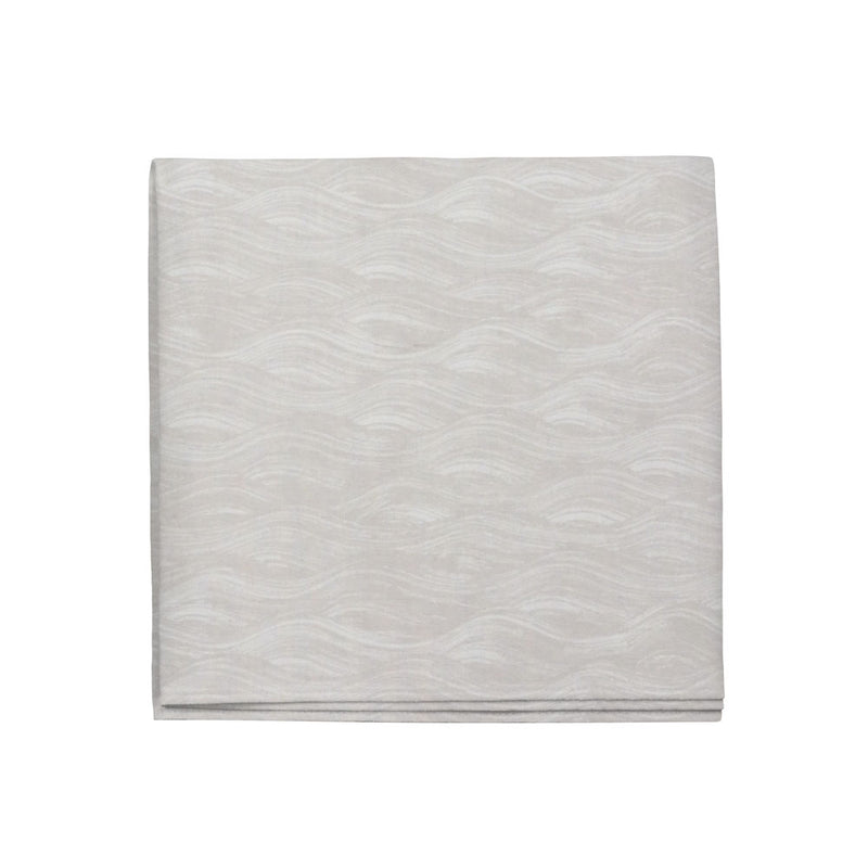 Painted Wave Napkins in Dune, Set of 4