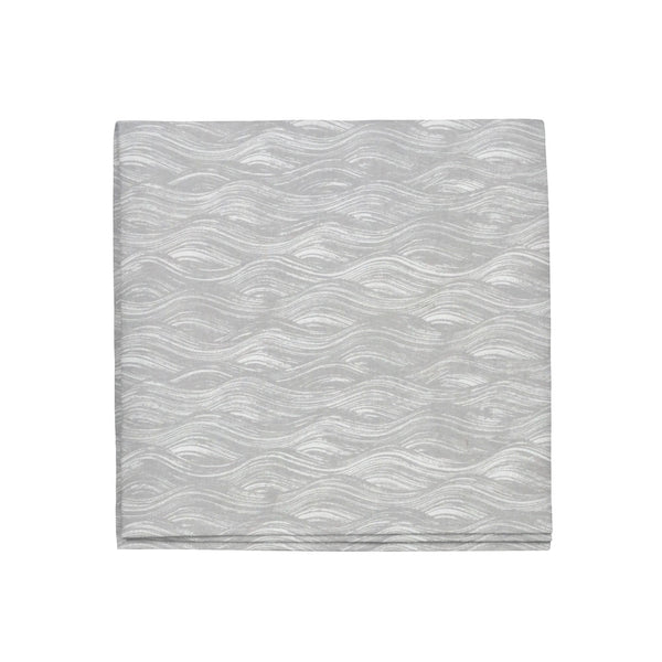 Painted Wave Napkins in French Grey, Set of 4