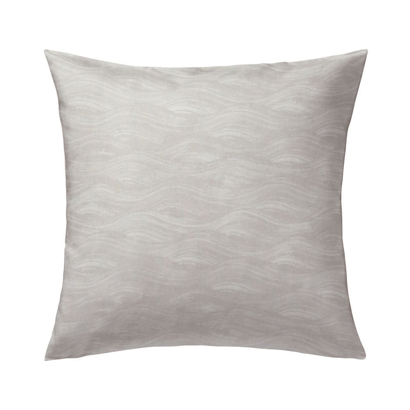Painted Wave Pillow in Dune