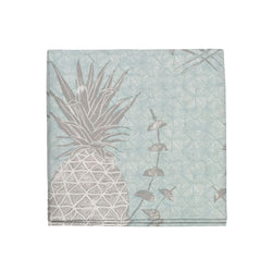 Royal Pineapple Napkins in Celadon, Set of 4