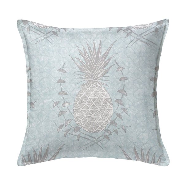 Royal Pineapple Pillow in Celadon
