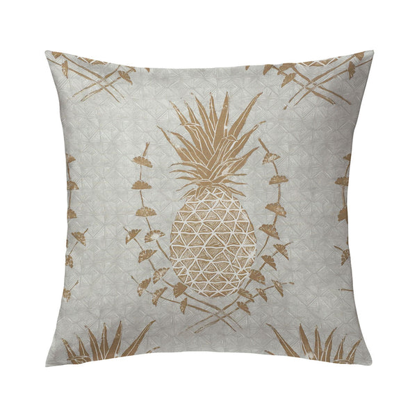 Royal Pineapple Pillow in Khaki