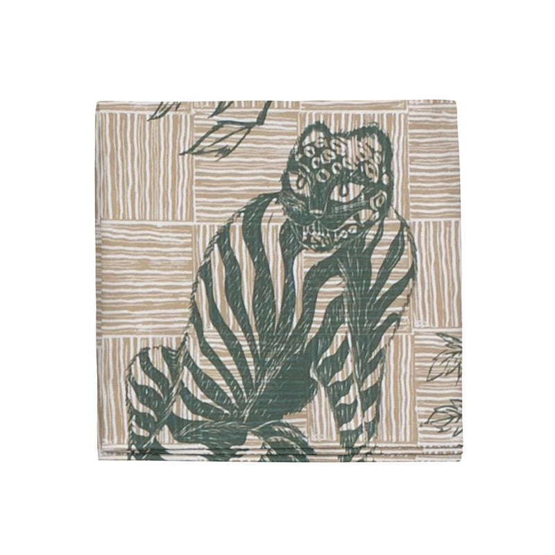 Tiger & Magpie Napkins in Hunter, Set of 4