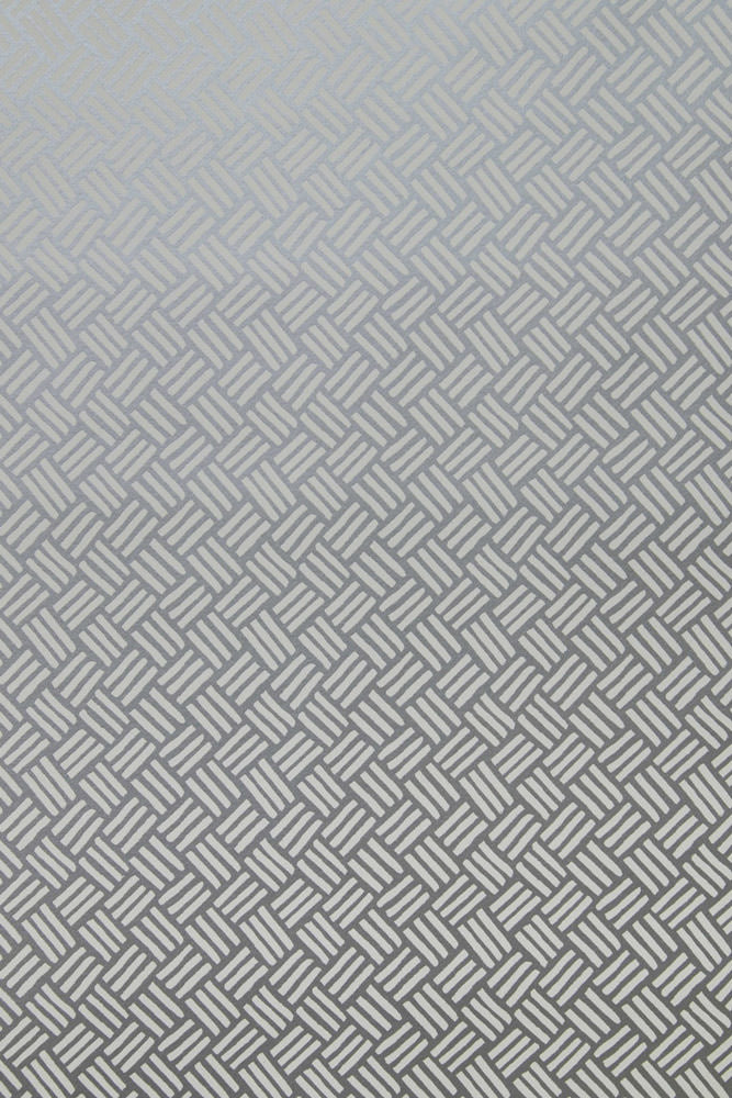 Basketweave Wallpaper in Platinum