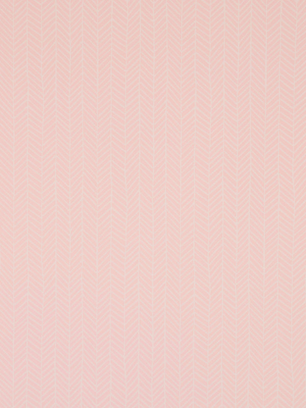Herringbone Wallpaper in Blush