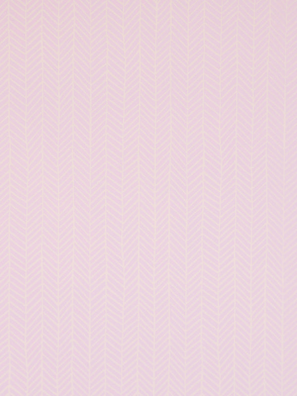 Herringbone Wallpaper in Lilac