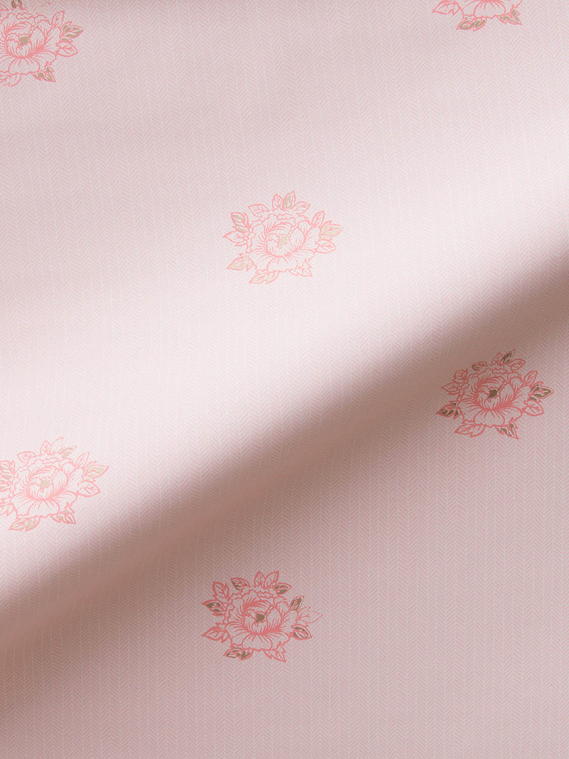 Peonies Wallpaper in Blush