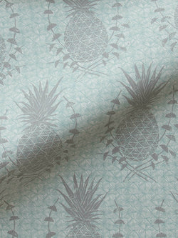 Royal Pineapple Wallpaper in Celadon