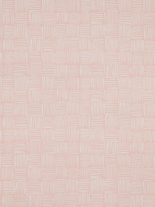 Woven Wallpaper in Blush