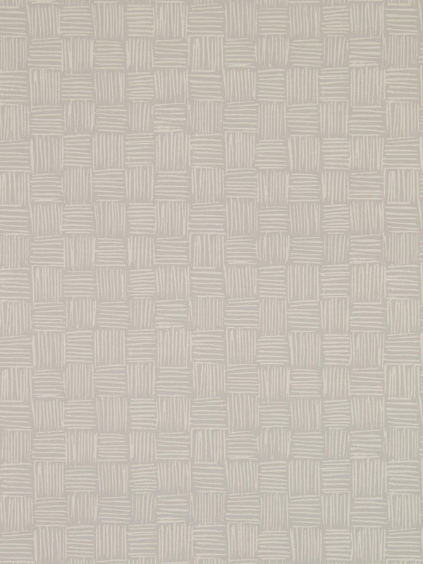 Woven Wallpaper in Dune