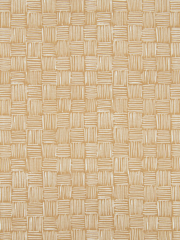 Woven Wallpaper in Khaki