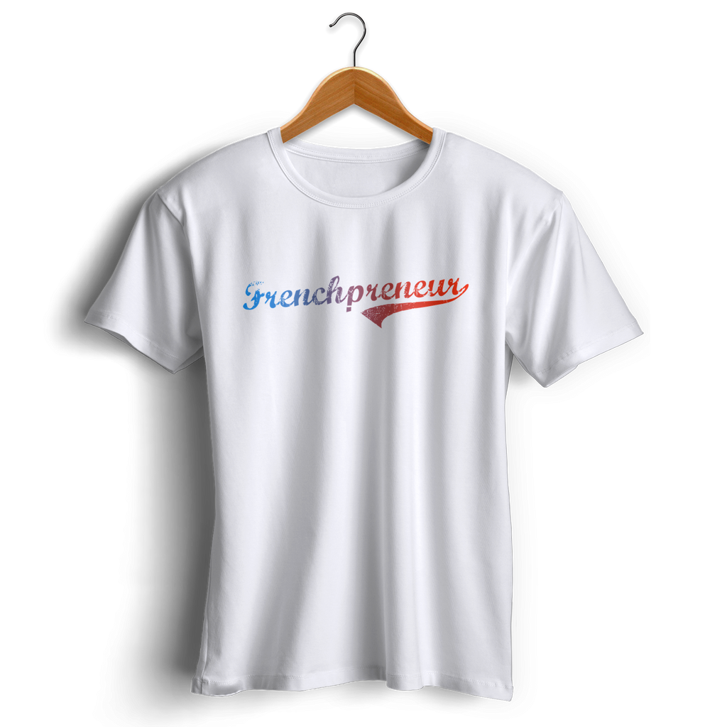T-shirt Frenchpreneur by Jetmindset