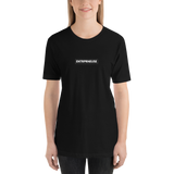 T-shirt ENTRPRNEUSE noir pour business woman