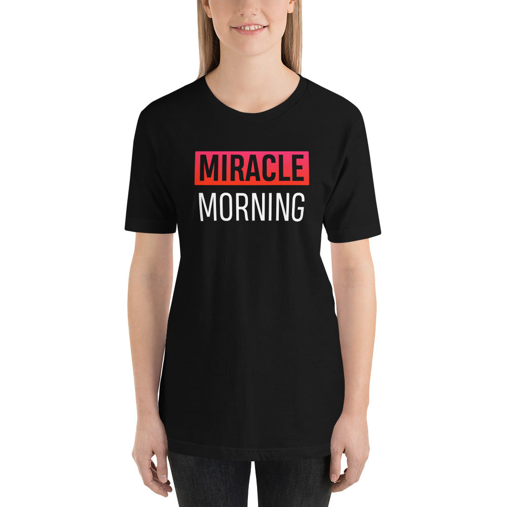 T-Shirt MIRACLE MORNING pour femme - Jetmindset