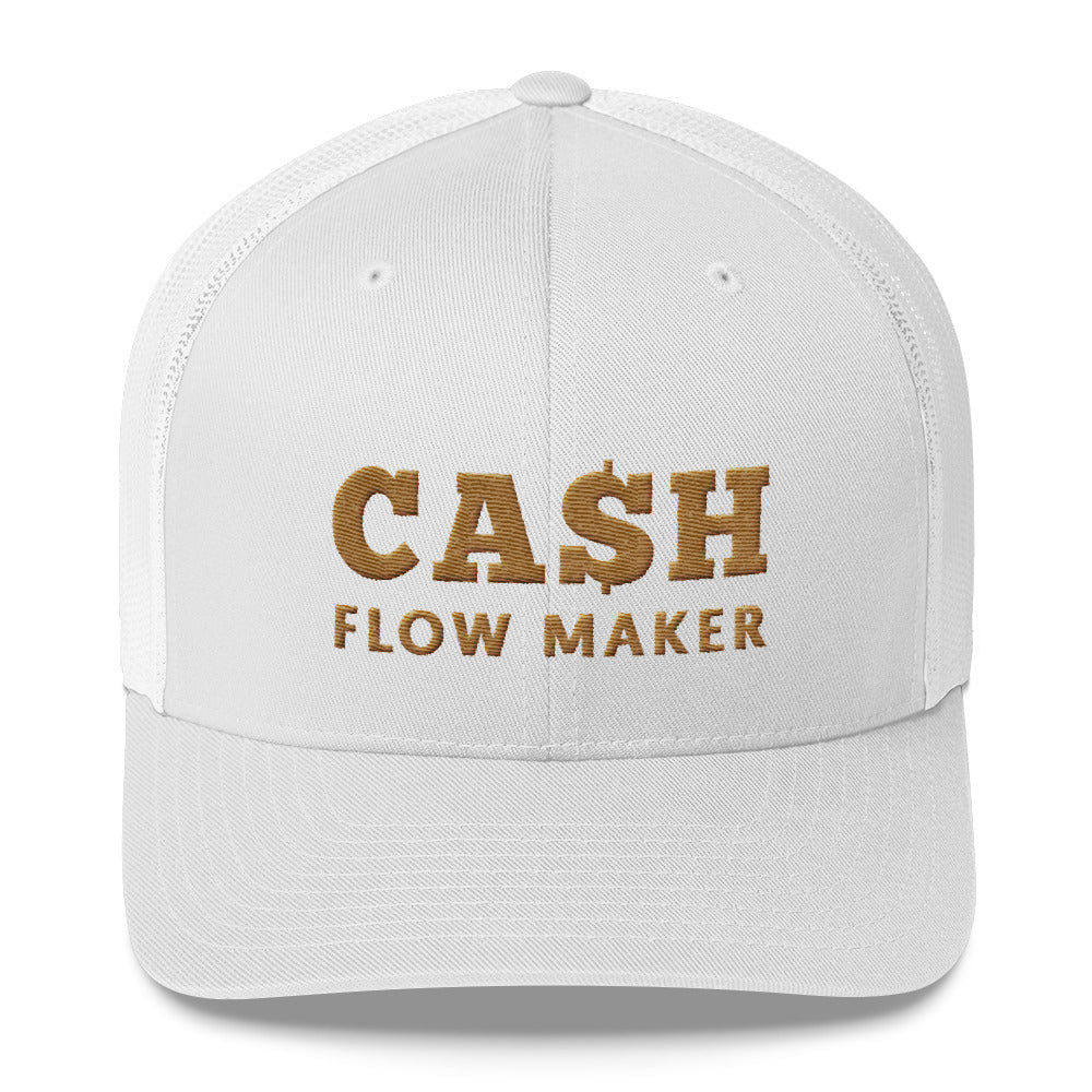 Casquete blanche Cash Flow Maker