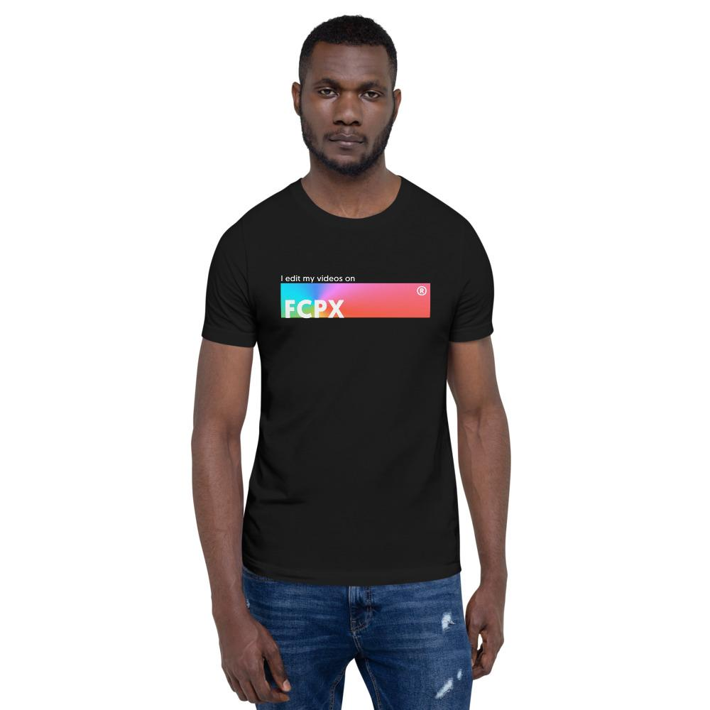 T-shirt I EDIT VIDEOS ON FCPX pour Youtuber