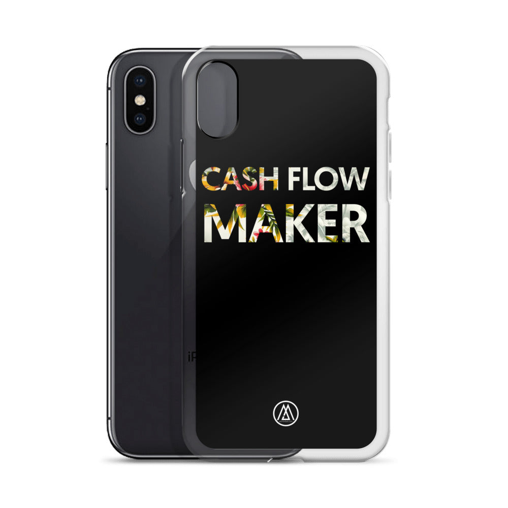 Coque iPhone X Cashflow Maker by Jetmindset
