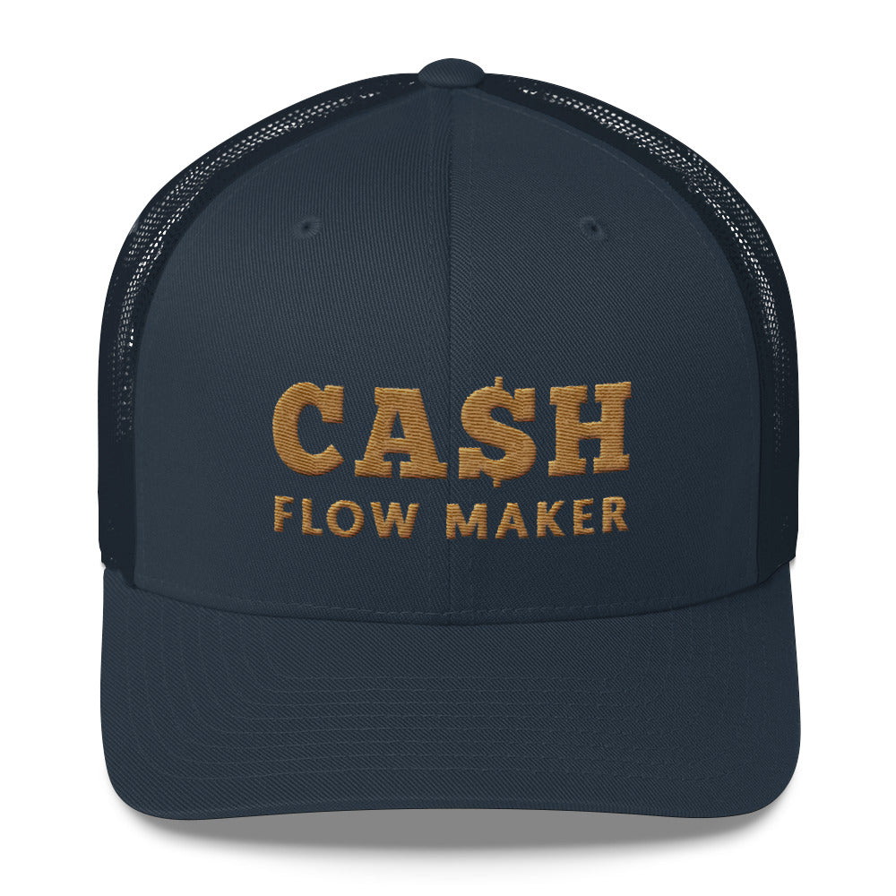 Casquete bleu Cash Flow Maker