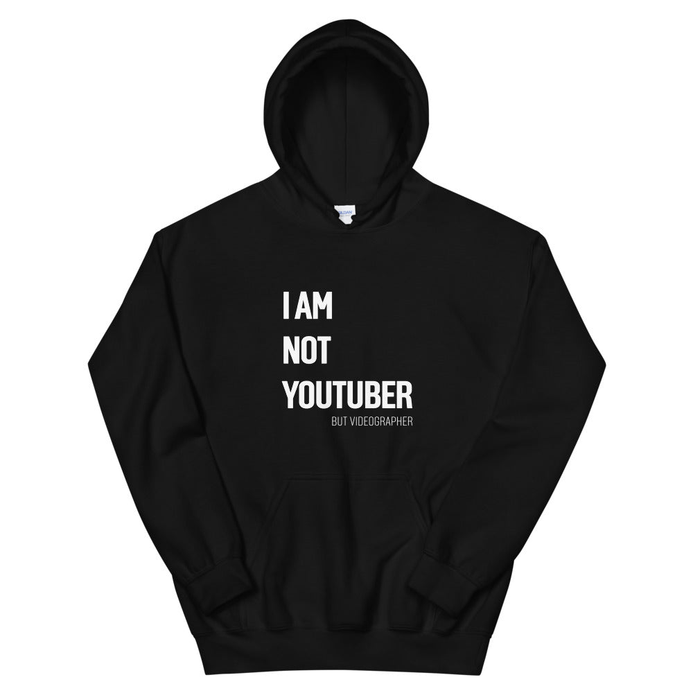 Sweat-shirt I AM NOT TOUTUBER by Jetmindset