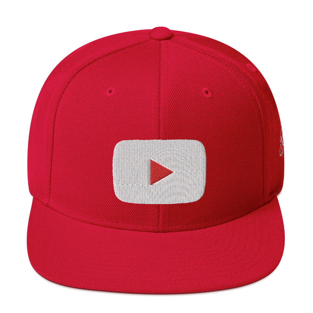 Casquette YOUTUBE rouge