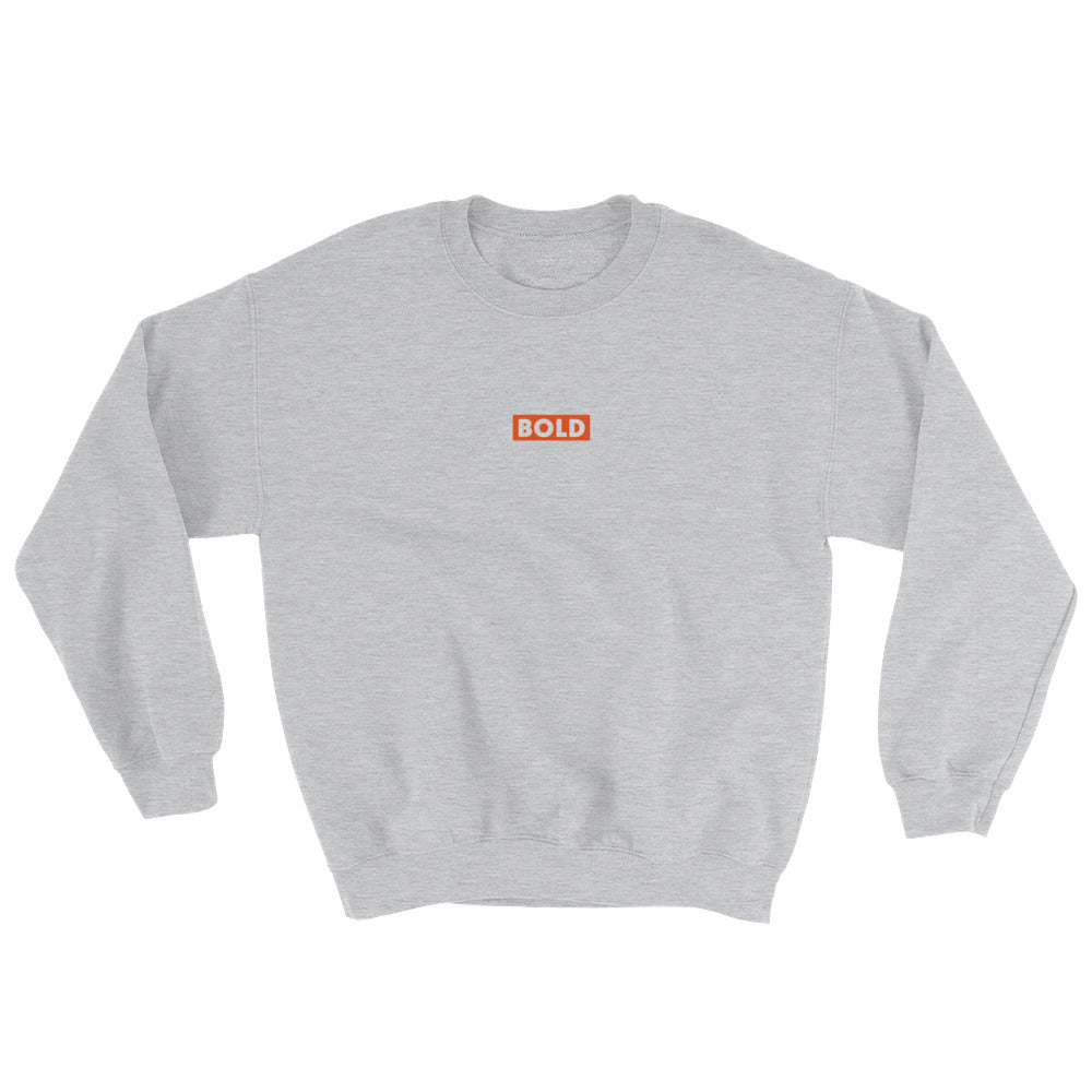 Sweat Little Bold gris Jetmindset