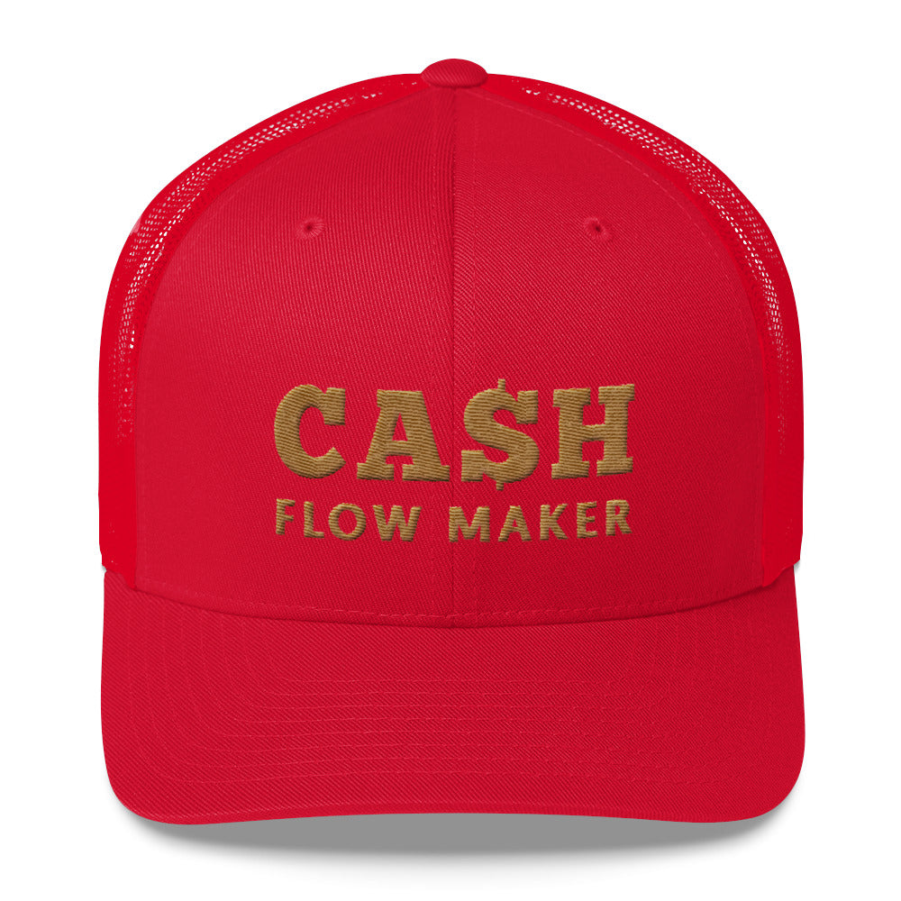 Casquete rouge Cash Flow Maker