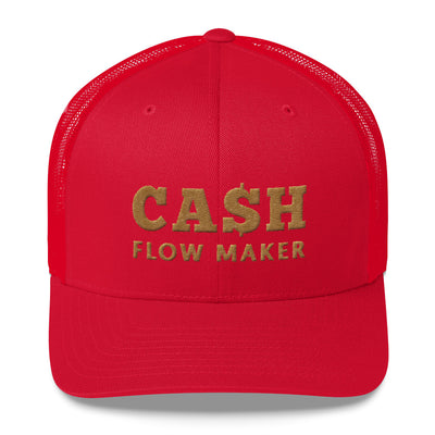 Casquete beige Cash Flow Maker