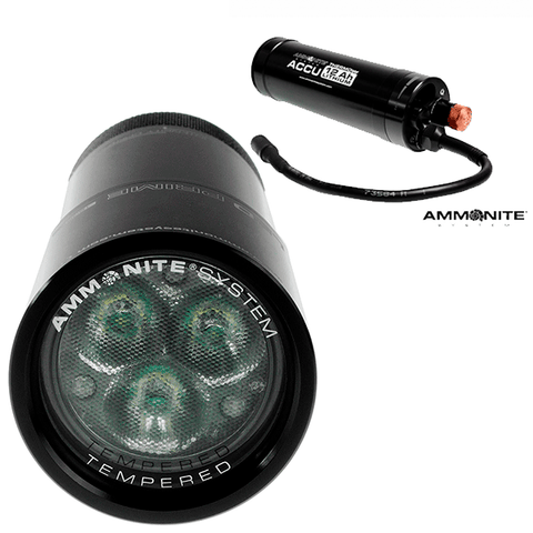 AMMONITE SYSTEM SET LED PRIME 7AH / 12AH. DIVE LINE STORE