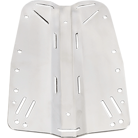 DIRZONE BACKPLATE 6MM ACERO INOX. DIVE LINE STORE