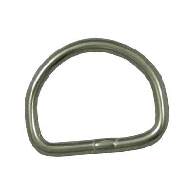 DIRZONE D-RING BAJO ACERO INOX  D-Ring de acero inoxidable.  Espesor 5 mm Ancho 50 mm. Dive Line Store
