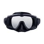 HALCYON SINGLE LENS MASK. Single Lens Mask, with black Frame and black Skirt. Dive Line Store