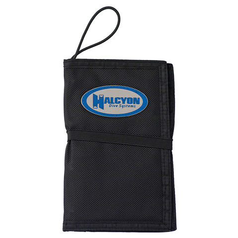 HALCYON WETNOTES. Diver's Notebook w/ Tables Window, Pockets, Pencil Holders. Dive Line Store